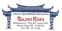Golden River Restaurant logo